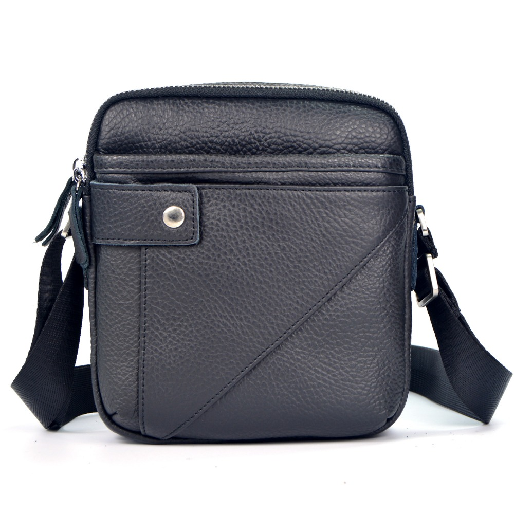 Genuine leather messenger  man  commercial small bag casual 2013 male bag cowhide <br><br>Aliexpress
