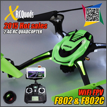 Outlets F802C 6Axis Gyro 2.4G 4CH WIFI FPV RC Quadcopter drone with 2.0MP Camera HD remote control kvadrokopter V.S. H9D X8C X5C