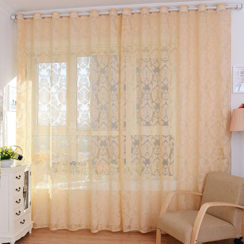 cheap sheer curtains