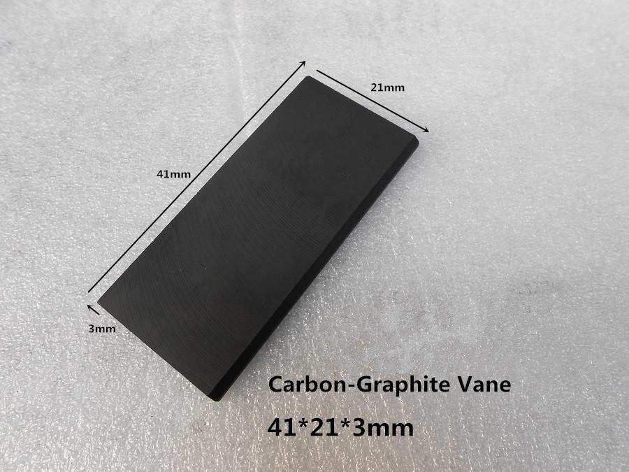 41x21x3mm EK60 carbon vanes  for  vacuum pump / graphite plate sheet  for  vane pumps,Rotary vane pump<br><br>Aliexpress
