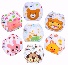 1 piece Baby Adjustable Diapers/Children Cloth Diaper/Reusable Nappies/Diaper Cover/Training Pants/Washable/Free Size D002(China (Mainland))