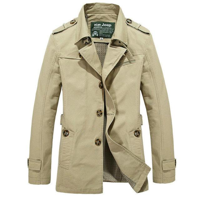 2016 горячая распродажа мода формальный стиль твердые мужчины траншею куртка высокое ...