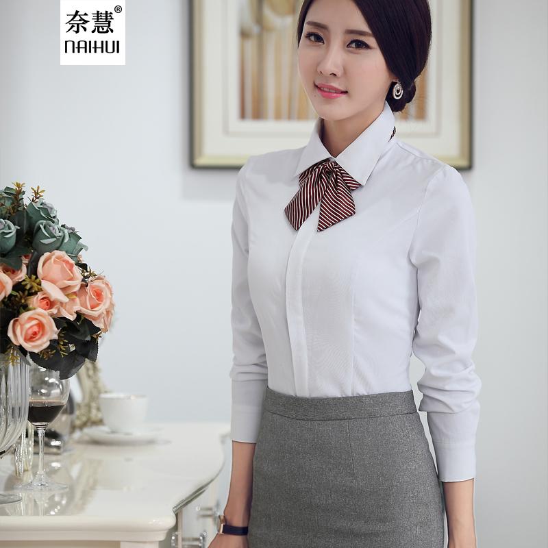 Buy 2015 New Fashion White Shirt Women