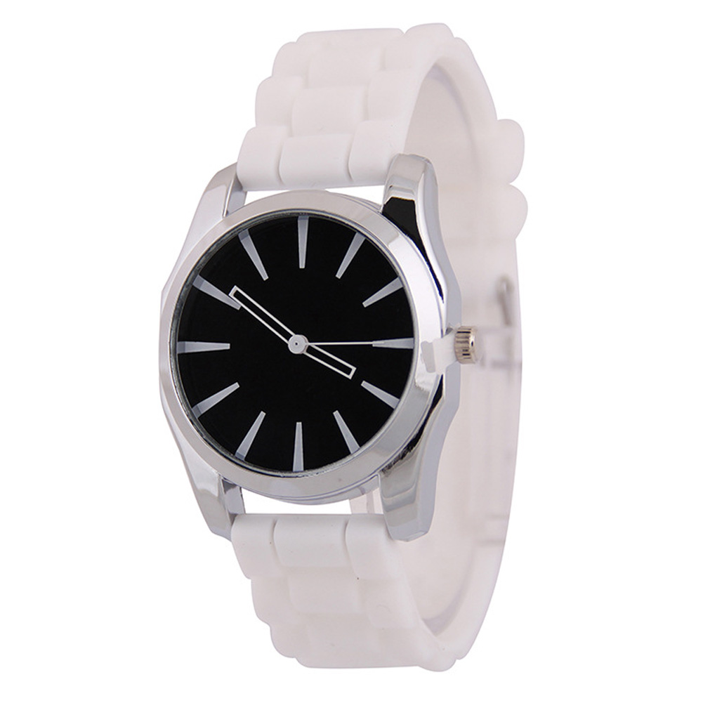 Top Brand Unisex Quartz Watch Sports Fashion Casual Silicone Watches For Men Women Ladies Women AD 3 Leaf Rubber Wristwatches(China (Mainland))