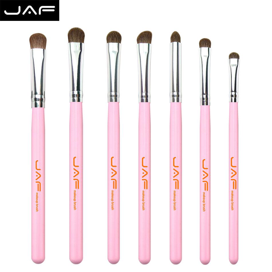 jaf Natural animal Hair blending Eye Makeup Brushes Set Professional Eyeshadow Brush For Makeup shadow make up Brushes tool(China (Mainland))