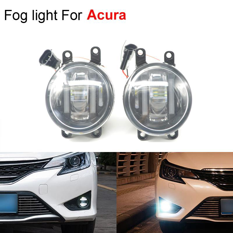 2pcs/set New Lamp Car Styling Light Source Lighting Fog Lights for Acura RDX TSX TL ILX 2013 2014 Super Bright<br><br>Aliexpress