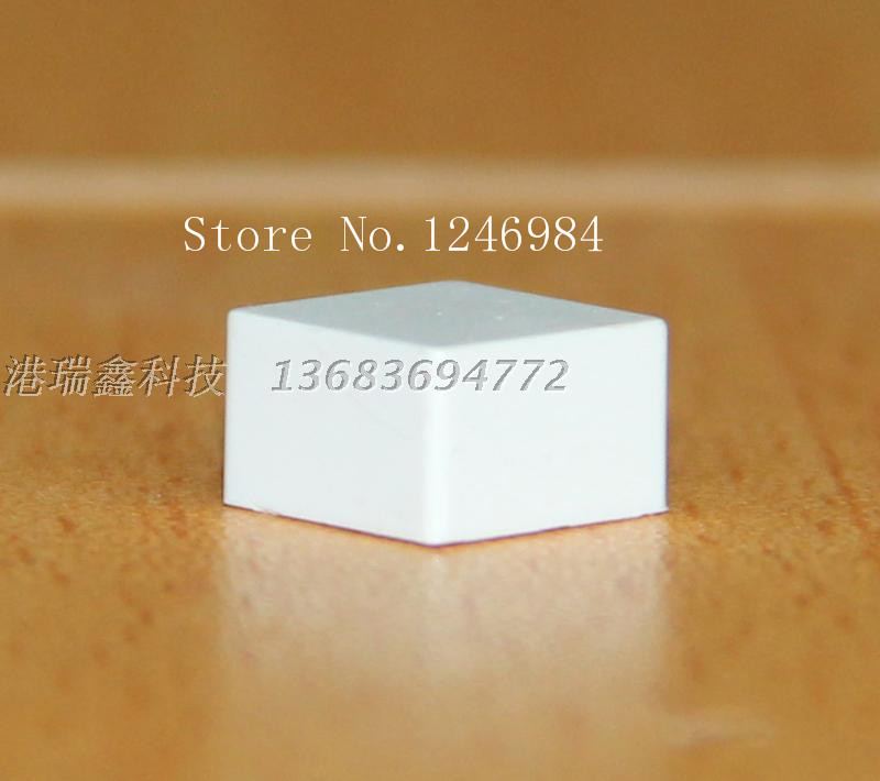 [SA]OMRON Omron Electronic Components Switches key caps 9 * 9 small white square cap genuine original B32-1260--100PCS/LOT<br><br>Aliexpress