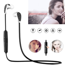 Bluetooth V4.1 Earphone Stereo Earbud Headphone Wireless Sports Headset Multi-point Sweat Proof With Microphone fone de ouvido(China (Mainland))