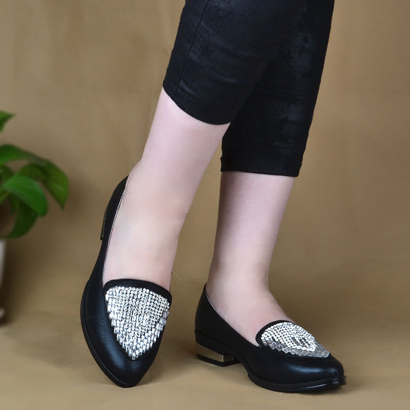 fashion Rhinestone with comfortable small set foot shoes ladies punk rome sexy concise elegant ethnic office lady kitty shoes(China (Mainland))