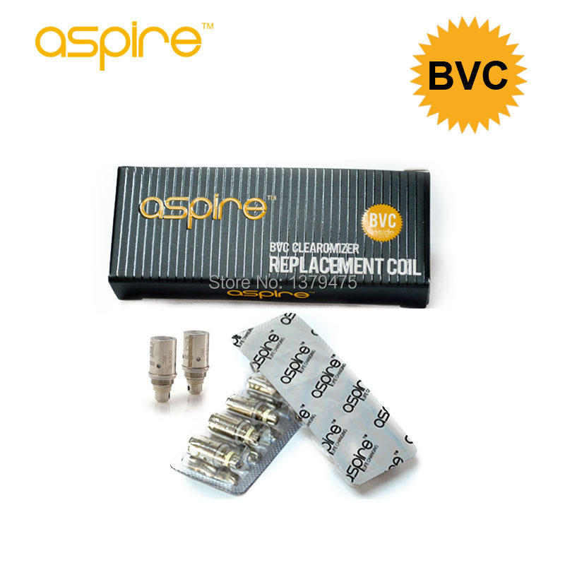 New Arrival 100% Original Aspire Coil Bottom Vertical Coil Replacement Coil Heads BVC Atomizer Core/Wick For Aspire CE5,ET,Vivi<br><br>Aliexpress