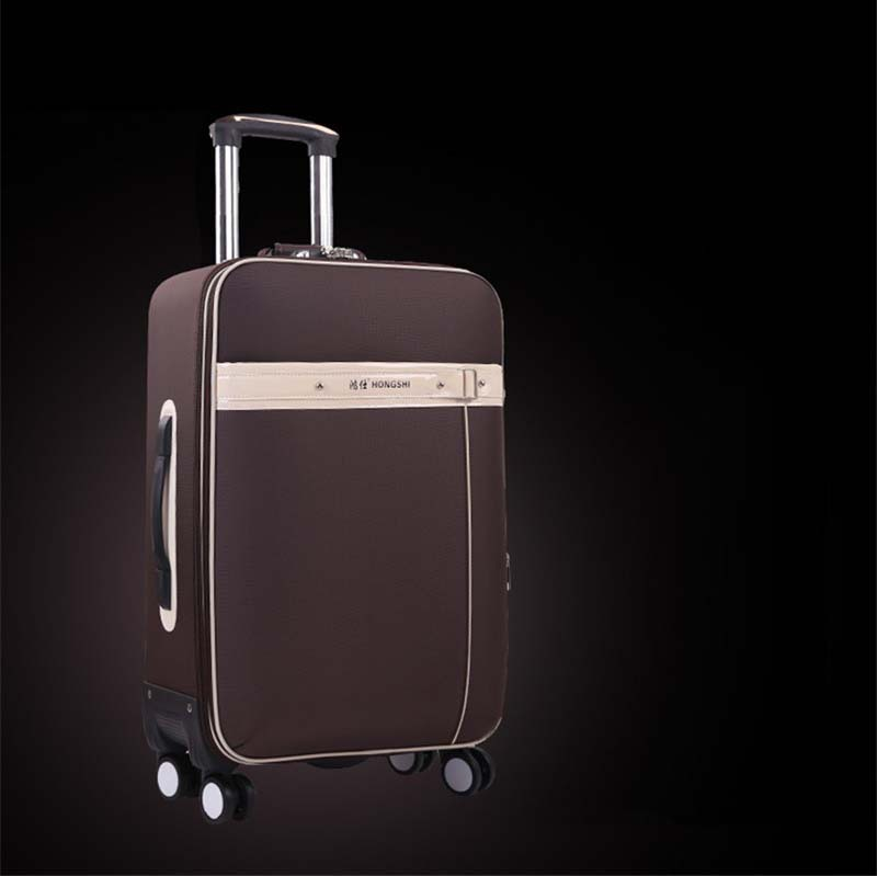 24 Inches Travel Suitcase,Spinner 4 wheel,ABS Luggage Bags,Rolling Luggage,Women and Girls Trolley Case ship by EMS