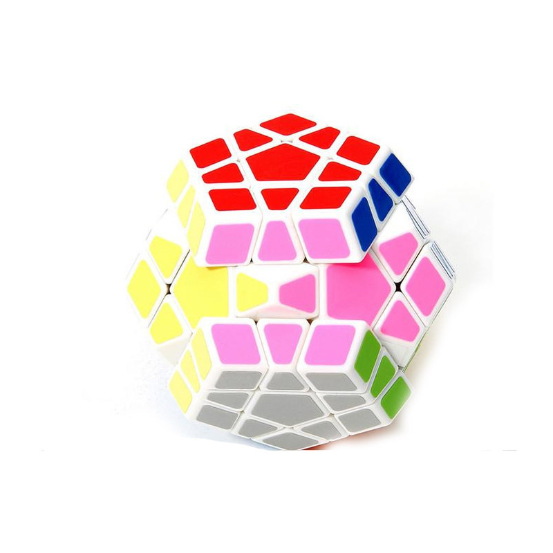 Magic Cube Puzzle Plastic Colorful Magic Cube Adjustable Five Training Magnetic Ball Educational Toy Novelty(China (Mainland))