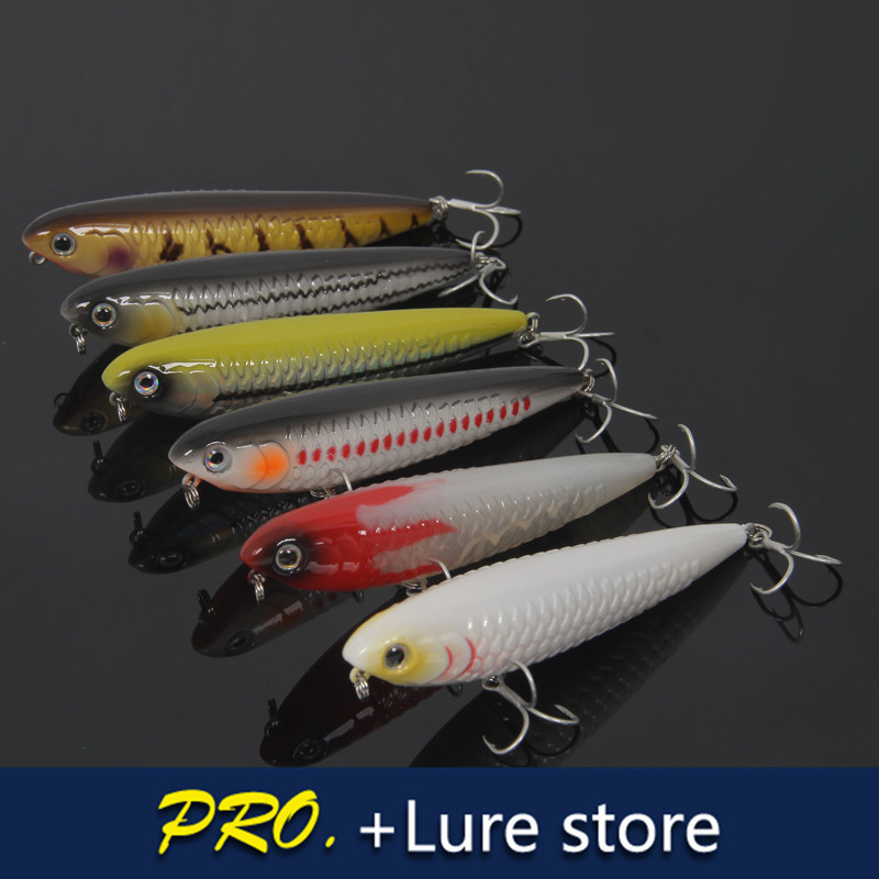 Buy 4pcs 11cm 23g big pencil lure for Fishing for floaters game
