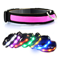 Nylon Glow Pet Supplies Dog Cat Collar for for Dogs Designer Products Collars Free shipping