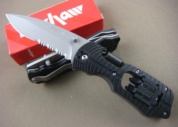 Hot ! High Quality OEM KERSHAW 1920 Serrated Multifunction Tools Hunting Knife camping\combat Free Shipping(China (Mainland))