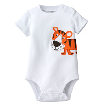 Summer Style Cartoon Baby Clothing boy girl clothes infant toddler jumpsuits overalls Newborn Baby Bodysuits(China (Mainland))