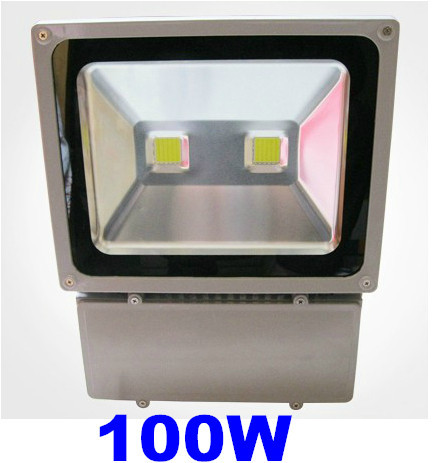 8X NEW Ultra Bright 100W Led Flood Light Outdoor Waterproof IP65 AC85-265V Outdoor Lamp Lighting Warm/Cool White(China (Mainland))