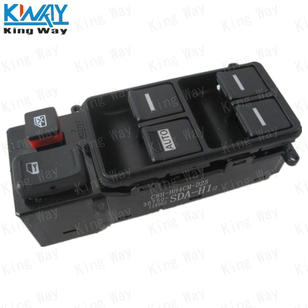 Free shipping king way electric master power window switch for 2000 honda civic power window switch