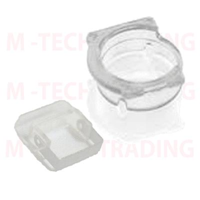 !NEW INNER FRONT CAMERA LENS COVER RING+FLASH DIFFUSER PART for IPHONE 5C 5s
