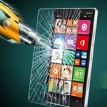 กระจกหน้าจอป้องกันกระเป๋าสำหรับM IcrosoftโนเกียLumia 435 520 532 535 540 625 630 640 XL 730 925 930 950 XL 550 650ฟิล์ม