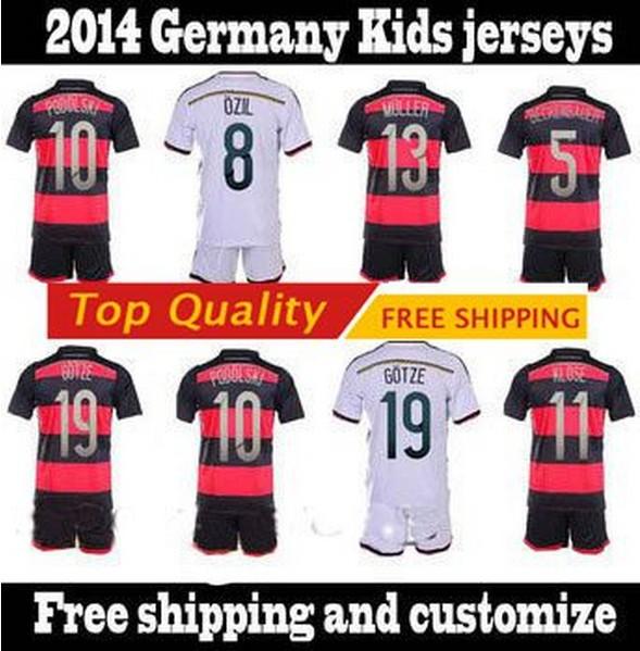 Allemagne maillot enfants de football 2014 coupe du monde - Maillot allemagne coupe du monde 2014 ...