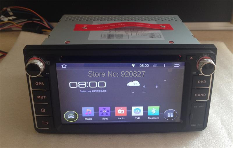 Free Shipping Android 4 4 Car DVD Player GPS Navi Auto Radio Stereo For Toyota Corolla