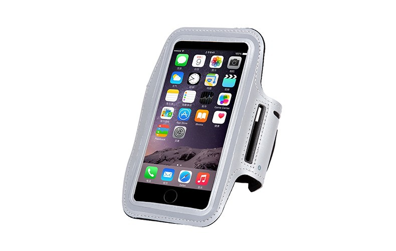For Apple iPhone 6 Plus/6S Plus 5.5 inch Waterproof Sports Running Armband Leather Case Phone Arm Bag Band GYM Fashion Holder