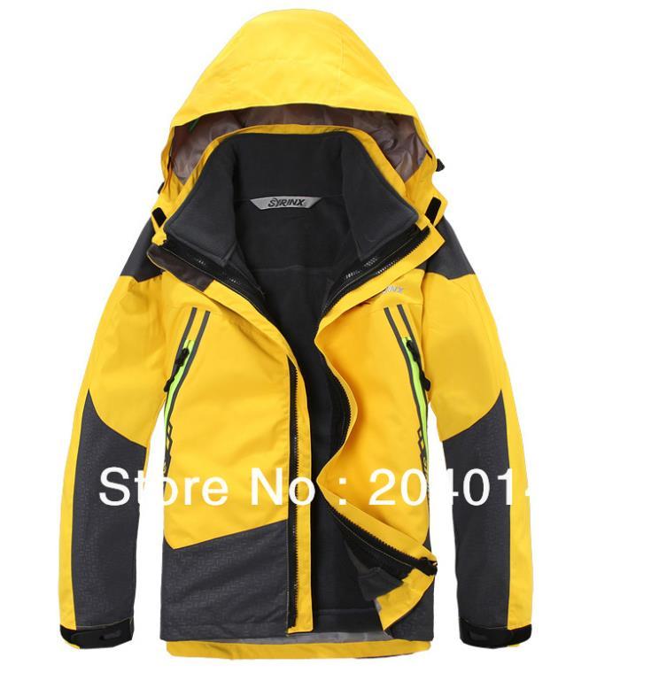 brand kids 2in1 fleece inner winter outdoor waterproof windproof hiking camping jacket hoodie ski coat outerwear parka<br><br>Aliexpress