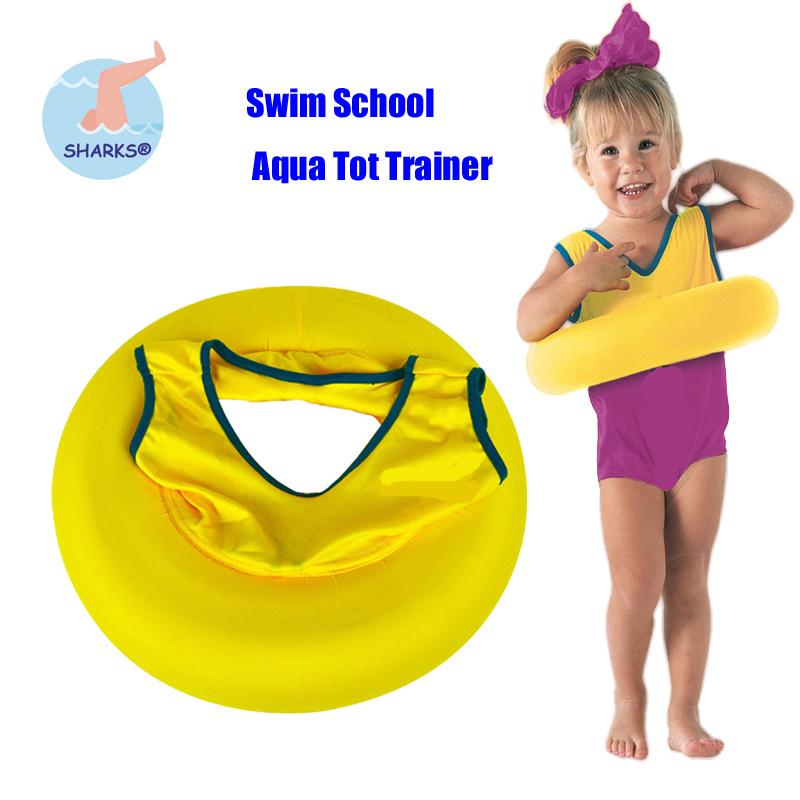 Adjustable safety Aqua Tot Trainer Inflatable Circle Infant Swimming aid Swim Float Ring for 2-4years Children Kid pool toys(China (Mainland))