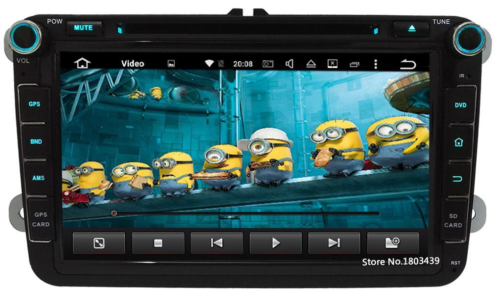 2DIN 2GB+32GB Octa Core 8″ Android 6 Car DVD Player Radio For Volkswagen Touran Caravelle Amarok Lavida Sagitar Skoda Fabia Yeti