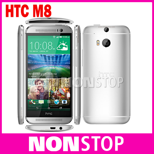 """Original HTC ONE M8 Mobile Phone 4G LET 5.0"""" Quad Core Android 4.4 RAM 2GB 16GB/32GBROM(China (Mainland))"""