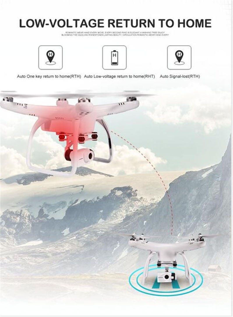 Wholesale UP Air UPair Chase 5.8G FPV 12MP 2K & 4K 24FPS HD Camera With 2-Axle Gimbal RC Quadcopter Camera Drone