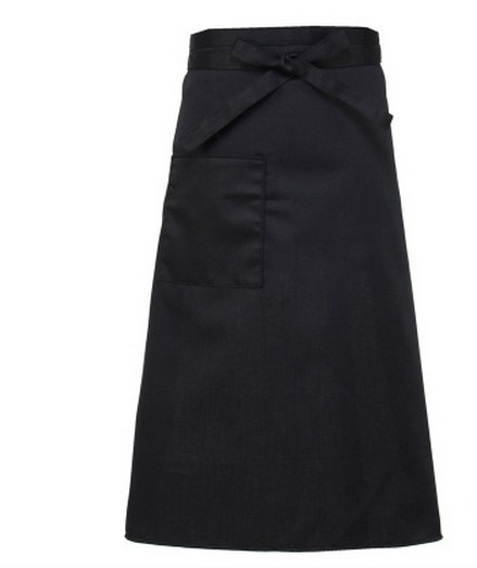 apron body long fast food shop hotel restaurant work clothes cook black apron(China (Mainland))