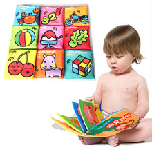 Hot Baby Toy Infant Cloth Book Toys Doll Early Development Books Toy Learning & Education For 0-3Y Soft Unfolding animal books(China (Mainland))