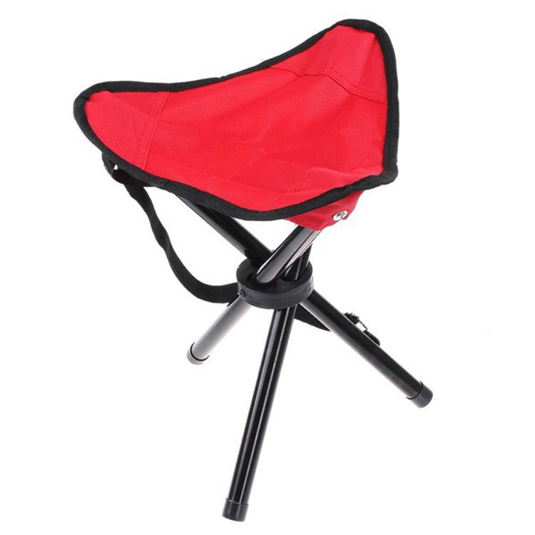 High quality Big Size Outdoor Camping Tripod Folding Stool Chair Fishing Fold