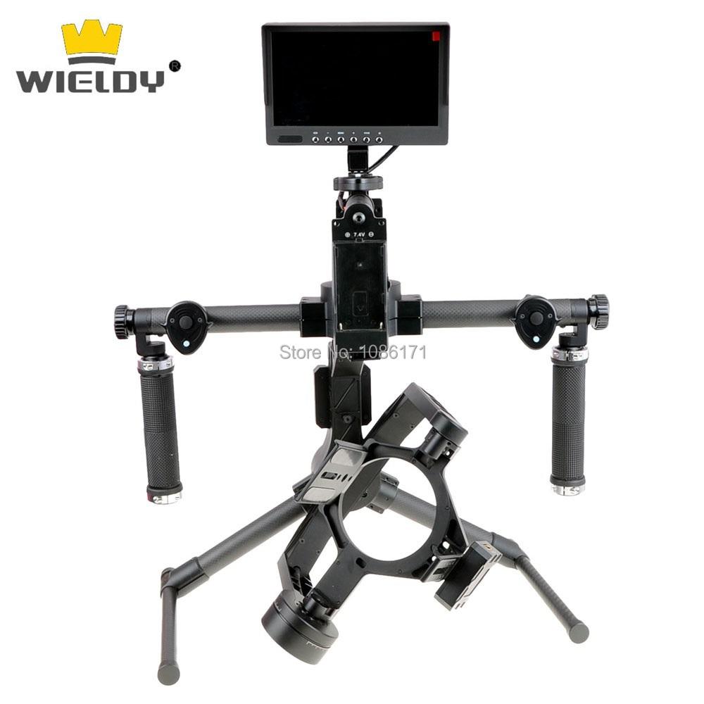 Steady-cam Wieldy SWIFT-C 3 Axis Camera Gimbal DSLR Stabilizer for Canon 5D2 5D3 60D 6D 7D for Nikon D800 D810 D7000<br><br>Aliexpress