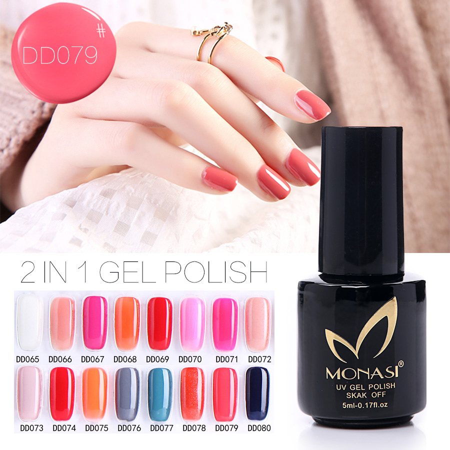 Gel Polish Shiny Gel Nails Varnish Long Lasting Nail Glue Bling Red Bling UV Gel Lak vernis semi permanent No Need Base Gel