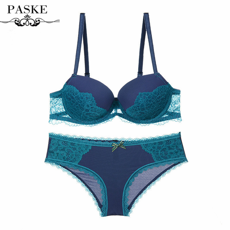 Newest Women Sexy Bra Sets Lace Embroidery Bra Push Up Bras Brief Sets 1/2 Cup Plus Size Bra Sets BS23(China (Mainland))