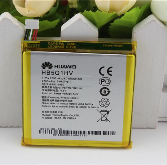 100% Original Genuine 2600mAh HB5Q1HV Battery For Huawei Ascend P1 XL ( U9200E ) U9200S U9510E T9510E Batterie Batterij
