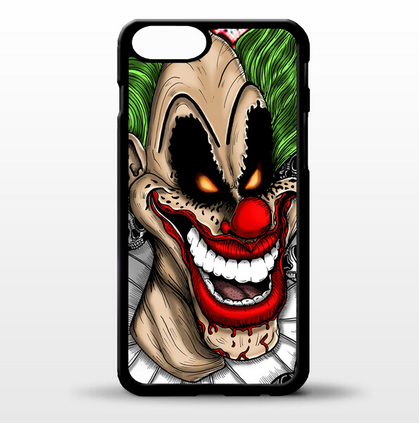 """Cover for iPhone 6 Plus 6S Plus Circus evil scary clown joker halloween 5.5"""" phone case"""
