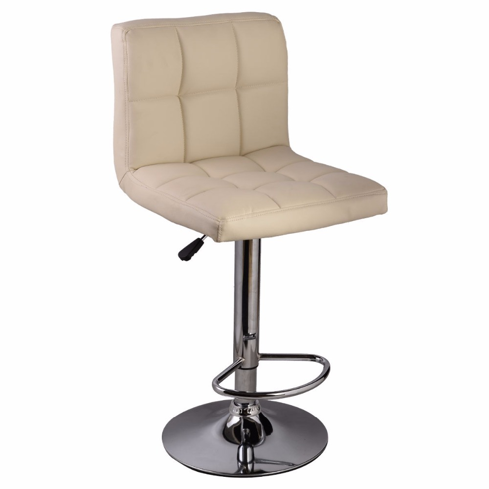 Online Buy Wholesale White Leather Bar Stool From China
