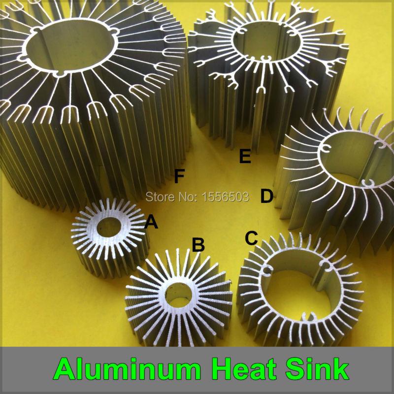 5 PCS LED Aluminum Radiator Heat Sink High Power Cooler Heatsink Radiating Base for Lamp DIY 1W 3W 5W 7W 9W 12W 15W 18W 24W<br><br>Aliexpress