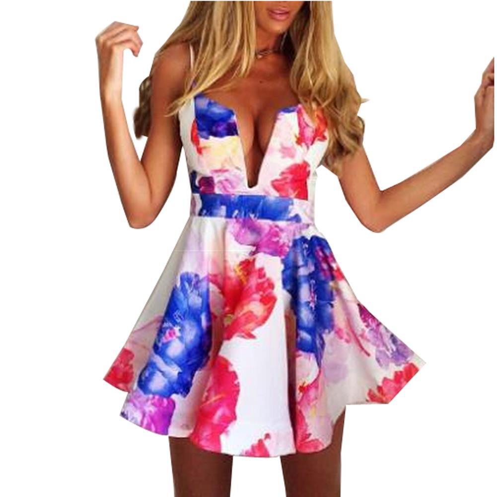 v Dress Bustier Multicolor