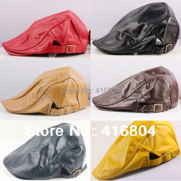 Driving Caps Leather Driving Cap Hat(china