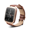 Original OUKITEl A28 Smart Watch 1 54 inch MTK2502 Bluetooth4 0 Genuine Leather Band Heart Tracker