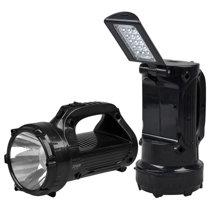 Dp Led-770 Searchlight 1w Emergency Light LED Portable Best Handheld Spotlight Cree T6 LED Flashlight Camping Rechargable Lamps(China (Mainland))