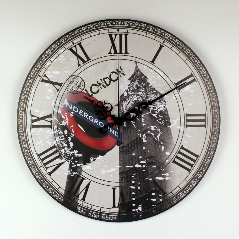 London rel gio de parede vender por atacado london for Grosse pendule murale design