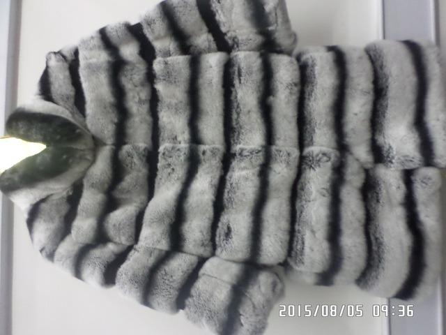 Самый старший кролика шиншиллы пальто