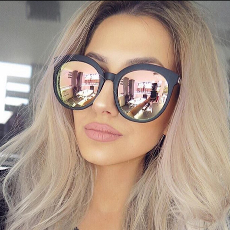 High Quality Round Sunglasses Women Brand Designer 2017 Sun Glasses For Women Lady Sunglass Female Mirror Glasses oculos de sol (1)