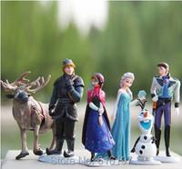 The Let it Go Snow Queen La reina de las Nieves Princess Elsa Anna Action Figures Doll Toy Brinquedos Pelucia Gifts for Kids